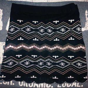 LF Patterned Skirt